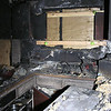 FIRE DAMAGE - KITCHEN