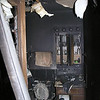 FIRE DAMAGE - MAIN BATHROOM