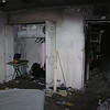 FIRE DAMAGE - MASTER BEDROOM