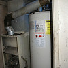 EXISTING HOME - FIRE DAMAGE - AIR HANDLER AND WATER HEATER