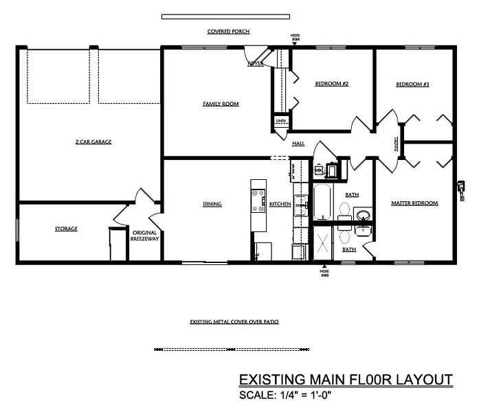 EXISTING FLOOR LAYOUT