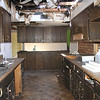 EXISTING KITCHEN - MORE OF THE FIRE DAMAGE WAS IN THIS AREA INCLUDING TRUSSES