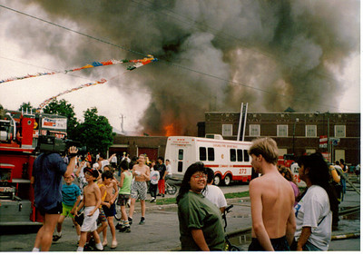 CHICAGO IL, 3-11 ALARM FIRE 6/4/1992