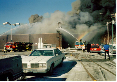 EVERGREEN PARK IL, 4-11 ALARM FIRE 1/31/1991