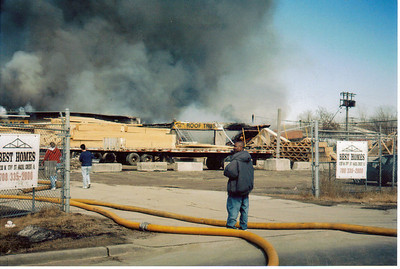 Harvey, IL 5-11 Alarm Fire 3-14-2003