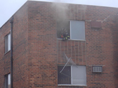 TPFD Firefighter venting