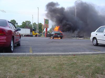 TINLEY PARK IL, CAR FIRE 9/13/2005