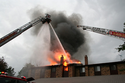 ORLAND IL, 2-11 ALARM FIRE 8/19/2009