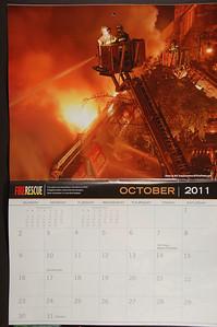 2011 Fire Rescue Calendar - 2