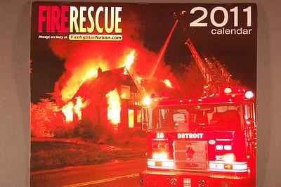 2011 Fire Rescue Calendar