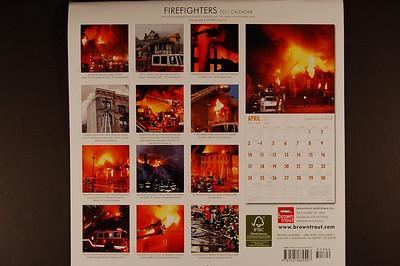 Firefighters Calendar 2011 - 2