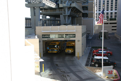 CLARK COUNTY NV, STATION 32 @ CITY CENTER (photo taken 9/10/2010)