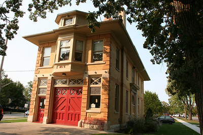 ELGIN IL, FORMER STATION5.  CURRENTLY A FIRE MUSEUM