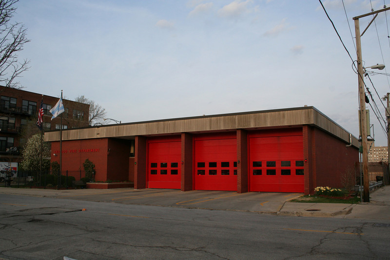 Engine Co. 26, Truck Co. 7, : 10 N. Leavitt (photo taken 4/25/2009)<br /> Built: 1975