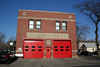 Engine Co. 50, Truck Co. 18: 5000 S. Unoin (photo taken 4/12/2009)<br /> Built: 1938 for the Fire Insurance Patrol<br /> Opened as a firehouse in 1959