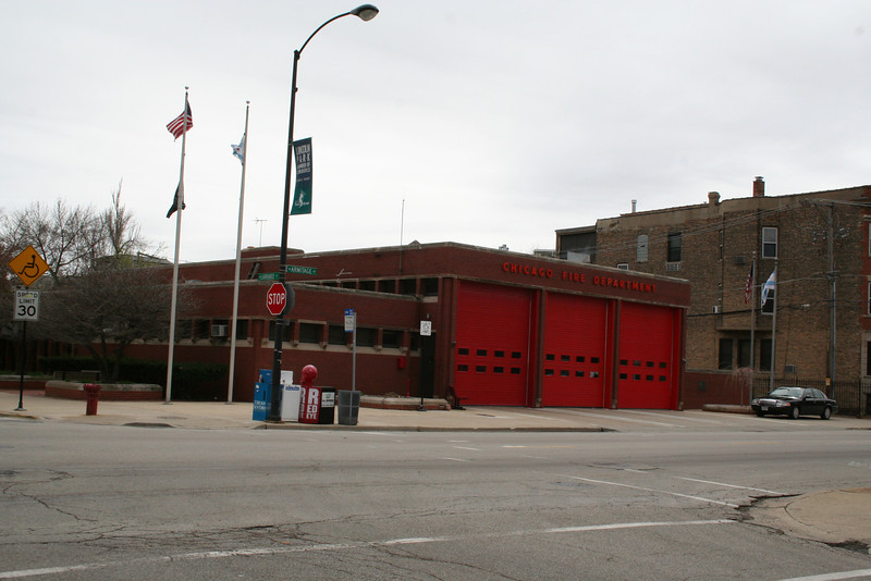 Engine Co. 22, Haz/Mat 5-1-1: 605 W. Armitage (photo taken 4/28/2009)<br /> Built: 1970-71