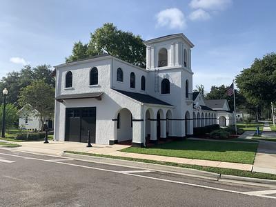 Davenport, former house