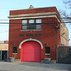 Former Engine Co. 20: 1316 W. Concord Pl (photo taken 4/18/2009)<br /> Built: 1936<br /> Closed: 1992<br /> Status: City of Chicago property/storage