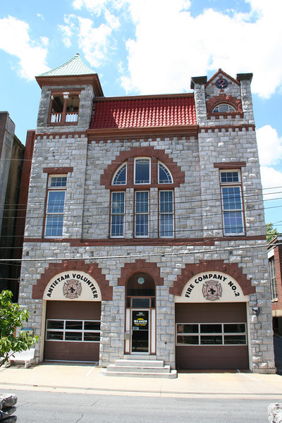 ANTIETAM FIRE CO. 2, HAGERSTOWN, HAGERSTOWN, WASHINGTON COUNTY<br /> <br /> BUILT: 1895<br /> ACTIVE STATION
