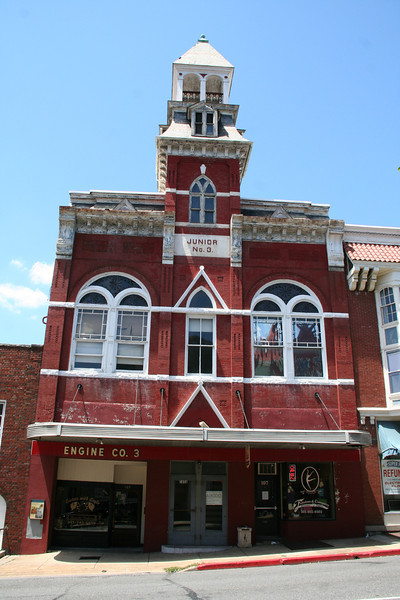 FORMER-HAGERSTOWN ENGINE CO. 3, HAGERSTOWN, WASHINGTON COUNTY<br /> <br /> BUILT: 1852<br /> CLOSED: 1993