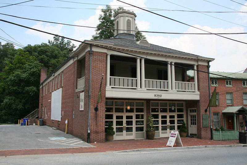 FORMER ELLICOTT CITY STATION, HOWARD COUNTY<br /> <br /> BUILT: 1939