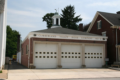 CUMBERLAND VALLEY HOSE CO. #2, FRANKLIN COUNTY  STATION BUILT: 1859