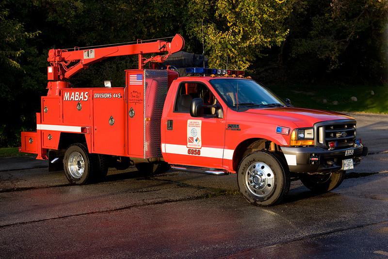 Mabas Div 4 & 5's SRT Mechanics truck