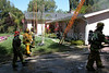 LAFD Garage Fire 5124 Penfield St. Woddland Hills -  April 19th, 2003 :