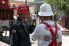 LAFD MAJOR EMERGENCY STRUCTURE FIRE  24TH STREET, L.A.  MAY 9TH, 2004 :