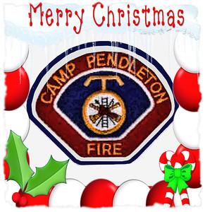 Pendleton Fire Christmas Ball 2010