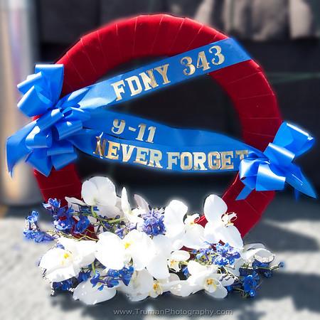 9-11 USS Midway Ceremony 2010