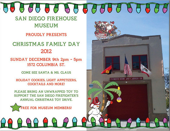 Christmas at the Firehouse Museum 2012