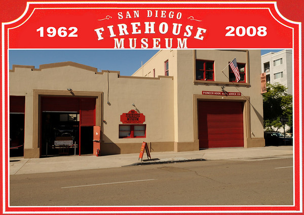 Photos of the San Diego Firehouse Museum