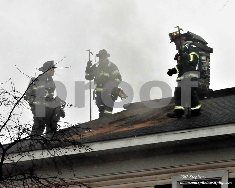 The McHenry Township Fire Protection District (MTFPD) was dispatched on 12/07/2018, at<br /> 12:38 hours to the 3800 Block of Main Street in McHenry, IL for a possible structure fire with<br /> reports of black smoke coming for the building. Fire units arrived on the scene of a two story<br /> residence at 3805 Main Street in less than two minutes. First crews on scene reported smoke<br /> coming from the structure. Fire crews entered the building to find heavy smoke conditions. Fire crews initiated fire suppression and rapid search operations. Fire was found nd extinguished on both the first floor and the basement levels of the building. Rapid search and a secondary search of the building found and confirmed no occupants were inside the building at the time of the fire.<br /> After the fire was under control fire crews ventilated the smoke from the structure. The fire was declared extinguished by fire personnel thirty nine minutes after the fire department was dispatched.<br /> COPYRIGHT 2018 WMS PHOTOGRAPHY
