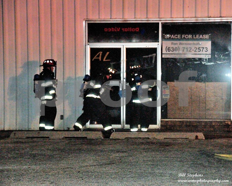 COMMERCIAL BUILDING FIRE 4507 W ELM MCHENRY<br /> COPYRIGHT 2018 WMS PHOTOGRAPHY
