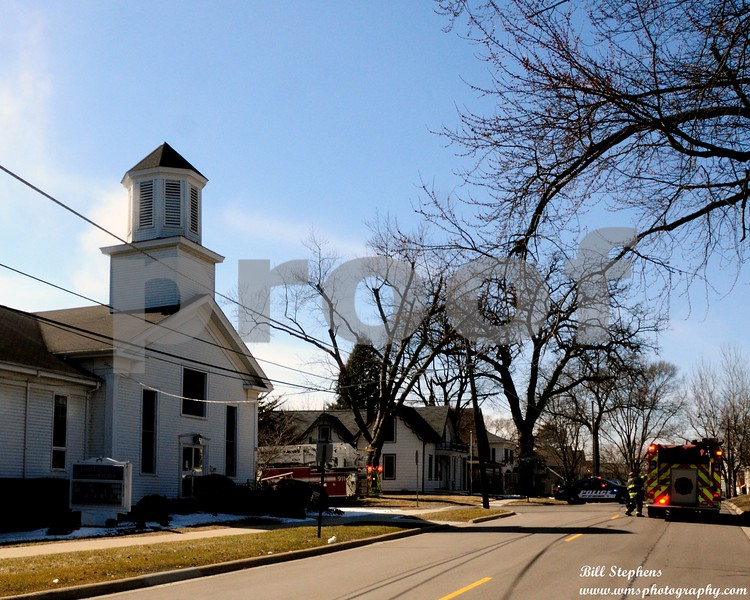 COPYRIGHT 2018 WMS PHOTOGRAPHYFirst United Methodist Church in McHenry3717 W. Main St, MCHENRY IL.McHenry Township Fire Protection District responded about 1:30 p.m. The fire was contained to an office on the first floor of the church. The office was extensively damaged and the hallways have water and smoke damage.