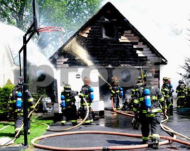 GARAGE FIRE 710 S RIVERSIDE DR MCHENRY
