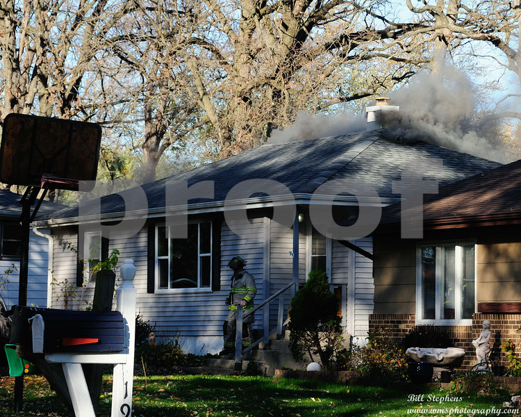 HOUSE FIRE 1916 FLOWER MCHENRY IL 11/10/2016