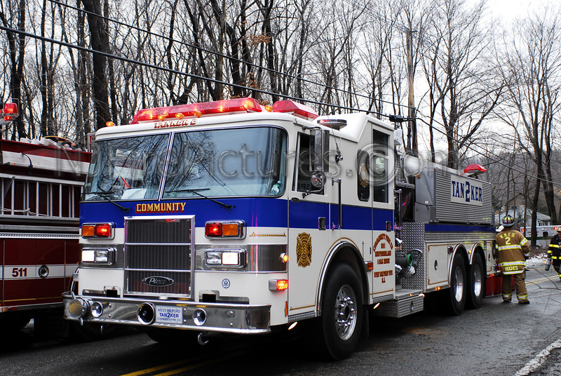 West Milford, NJ Tanker 2 working mutual aid in Rockaway