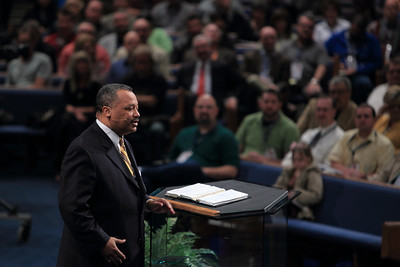 """Fred Luter """"Enduring Change"""" speaks at the 25th Annual Pastors' Conference at First Baptist Church, Jacksonville, FL"""