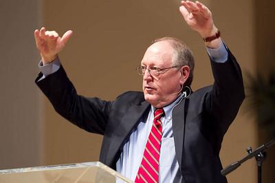 "Mark Coppenger - ""Teaching in Strange Times"" Dr. Mac Brunson, Senior Pastor at First Baptist Church hosts the 25th Annual Pastors' Conference in Jacksonville, FL"