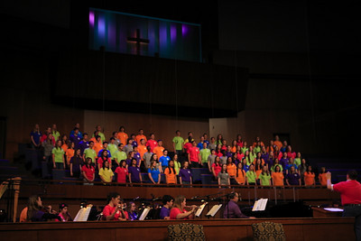 First Baptist's High School Choir & Orchestra perform at the 25th Annual Pastors' Conference