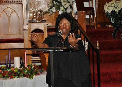 First Congregational Service 12/14/14