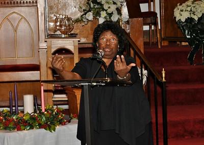 First Congregational Service 12/14/14