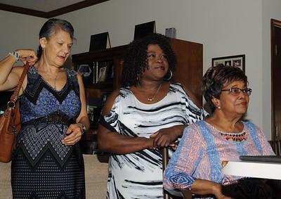 Pauline Missionaries Congratulating & Honoring Victoria