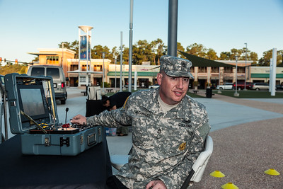 FIRST Orlando Regional US ARMY Robotic display-9229