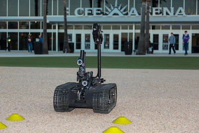 FIRST Orlando Regional US ARMY Robotic display-9219