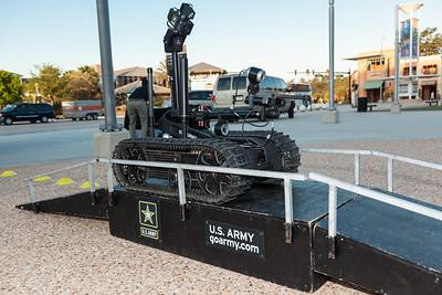 FIRST Orlando Regional US ARMY Robotic display-9227