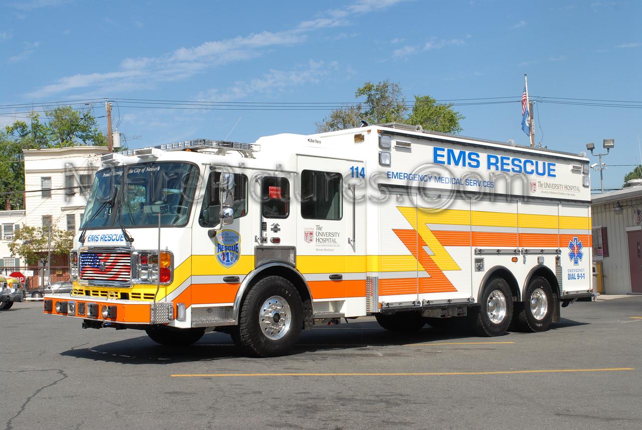 UMDNJ Newark - Rescue 114 - 2006 American LaFrance