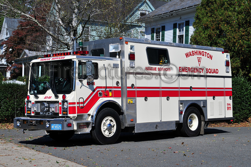 WASHINGTON BORO, NJ RESCUE 83-56 - 1990 MACK MC/SAULSBURY/2010GUARDIAN FIRE EQUIPMENT REFURB